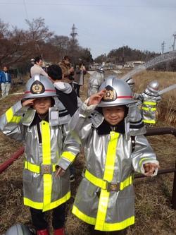 消防団体験