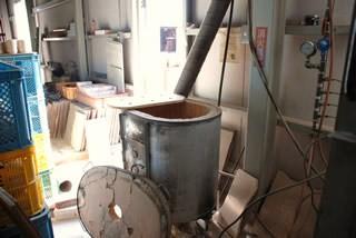 素焼用のミニ窯